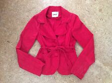 Only Damen Jacke Trench Coat Rot Gr. M 36 38