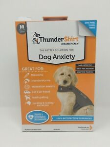 ThunderShirt Classic Dog Anxiety Jacket, Heather Gray, Medium Upc1165