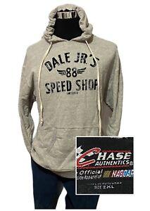 Chase Authentics Dale Jr's 88 Speed Shop Mens Nascar Sweatshirt Hoodie Size 2XL