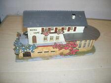 FALLER H0 HO - Hotel Cafe Nr. 219 - Holzbauweise & Kunststoffteile - 50er Jahre