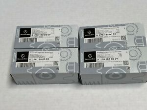 4 x Mercedes Benz Genuine C CL CLA E CLS ML GLE S SL SLK Engine Oil Filter Kit