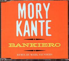 MORY KANTE - BANKIERO (REMIX MARK SAUNDERS) - CD MAXI [1537]