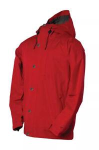 NWT 2019/20 BONFIRE* Mens (M) LinTon Snowboard Jacket Fire Engine Red
