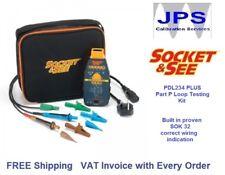 Loop Voltage Polarity Part P Electrical Tester Socket & See PDL234Plus  JPST028