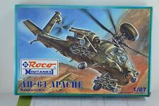 Roco Minitanks 718 AH - 64 Apache Helicopter Building Kit 1:87 -  HO Scale