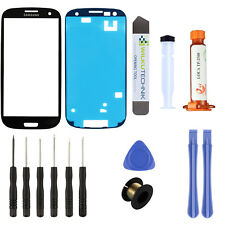 Samsung Galaxy S3 Neo i9301 Glas LOCA Schwarz ● Display Touchscreen Scheibe