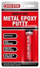EVO-Stik Evo Stik Stick Hard veloce metallo epossidico stucco in acciaio 50g 320123 NUOVO