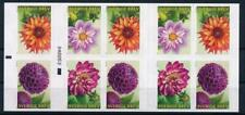 [G367797] Sweden 2013 Flowers good complete booklet very fine Adhesive