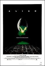 Sci-Fi  * Alien *  Sigourney Weaver  Movie  Poster 1979  Large Format 24x36
