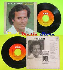 LP 45 7''JULIO IGLESIAS Un sentimental Viejas tradiciones 1980 holland cd mc dvd