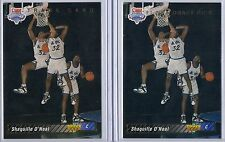 1992-93 Upper Deck Shaquille O'Neal RC LOT #1 Draft Pick & Trade Card !!  LAKERS