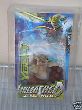 STAR WARS YODA UNLEASHED MOC MIB NEVER OPENED AFA 85