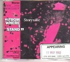 (CT805) Storyville, From Where I Stand - 1992 DJ CD