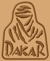 Dakar logo Parche bordado iron-on patch