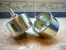 "1 pc 63mm 2 1/2"" inch THK Premium Diamond coated hole saw core drills PILOT BIT"