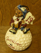 Boyds Resin Ornament #25719 McDuffer.19th Hole, Nib From Retail Store Golf