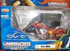 Toy 1:18 Orange County Chopper Fire Bike OCC