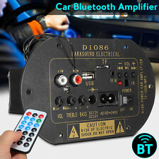 HiFi 80W Bluetooth Subwoofer Car Amplifier Board TF USB MP3 DC12V/24V AC110-220V