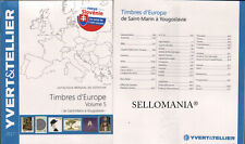 CATALOGO SELLOS EUROPA VOLUMEN V  . YVERT&TELLIER . S - Y .  ULTIMA EDICION 2017