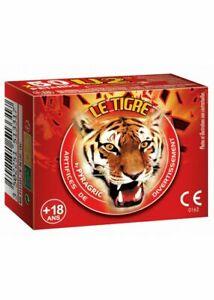 LOT DE PÉTARDS À MÈCHE u2 unick le tigre démon artifice