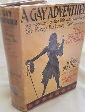 A Gay Adventurer (Life & Exploits Percy Blakeney) Scarlet Pimpernel,1935 1st ed