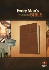 Every Man's Bible-NLT Deluxe Messenger by Tyndale House Publishers (Leather / fine binding, 2014)
