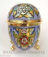 Halcyon Days Enamels Easter Egg 2009 Enamel Egg