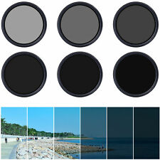 55mm Slim Fader Variable ND Filter Neutral Density ND2 ND8 ND16 to ND400 LF303