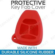 Remote Key Fob Cover Case Shell for 2006 2007 Dodge Charger Red