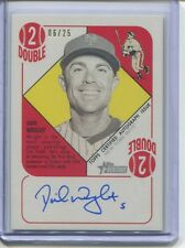 2015 TOPPS HERITAGE 51 COLLECTION DAVID WRIGHT AUTO ON CARD 6/25
