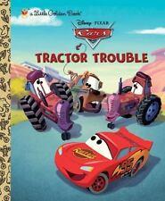 Disney Pixar's  CARS  Tractor Trouble  New Hardcover Little Golden Book
