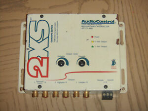 AudioControl 2XS Concert Series Two Way Crossover