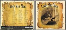 2 CD 40T CANDY MAN BLUES BIG JOE WILLIAMS/BILLIE HOLIDAY/HOOKER/MUDDY WATERS...