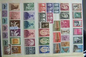 Briefmarken Vatikan 43st. Sammlung Postfrisch