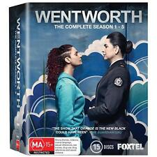 Wentworth : Season 1-5 (Blu-ray, 2017, 15-Disc Set) : NEW