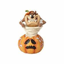 Enesco H7 Looney Tunes Jim Shore Halloween 6in Pumpkin Taz Figurine 4052812