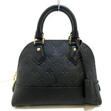 Auth LOUIS VUITTON NeoAlma BB M44829 Noir Monogram Empreinte Womens Handbag