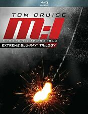 Mission Impossible: Extreme Trilogy (Blu-ray - Boxset)