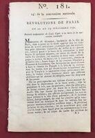 Procès du roi Louis 16 1793 Plaidoyer de l'avocat M de Sèze Bourbon Révolution