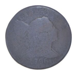 1796 Liberty Cap Large Cent - Charles Coin Collection *486