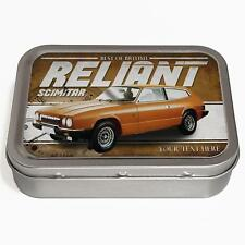 Personalised Reliant Scimitar GTE  2oz Tobacco Tin Classic Car Baccy Gift CL44