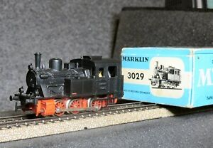 MARKLIN 3029 Locomotiva in scatola originale