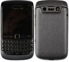 Skinomi Brushed Steel Phone Skin+Screen Protector Cover for BlackBerry Bold 9790