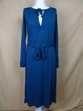 NEU - Elegantes Kleid von BRUUNS BAZAAR mit Gürtel, Gr. S, Farbe: Petrol