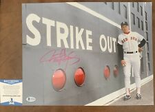 ROGER CLEMENS SIGNED AUTO AUTOGRAPHED 11X14 YANKEES RED SOX BECKETT COA