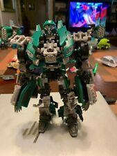 Transformers Alliance Roadbuster Nascar Dale 88 National Guard Figure LQQK!!