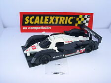 SCALEXTRIC PEUGEOT 908 HDI FAP #9 LE MANS SERIES ONLY IN SETS.MINT UNBOXED MINT