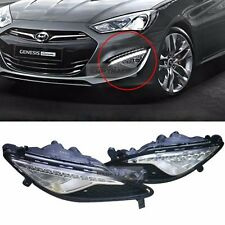 Genuine Parts LED DRL Fog Light Lamp Cover Set For HYUNDAI 13-2017 Genesis Coupe