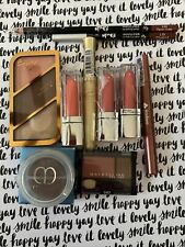 10 Pc Cosmetic Lot Rimmel Maybelline Lips Blush Liners See Pics