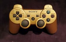 Genuine Sony Playstation 3, DualShock 3 SIXAXIS Controller - Gold - Adult Owned